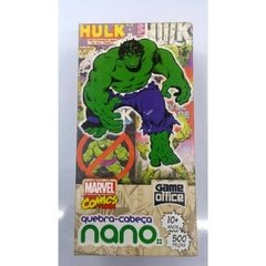 MARVEL COMICS - QC 500 PECAS NANO - HULK