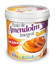 pasta amendoim integral