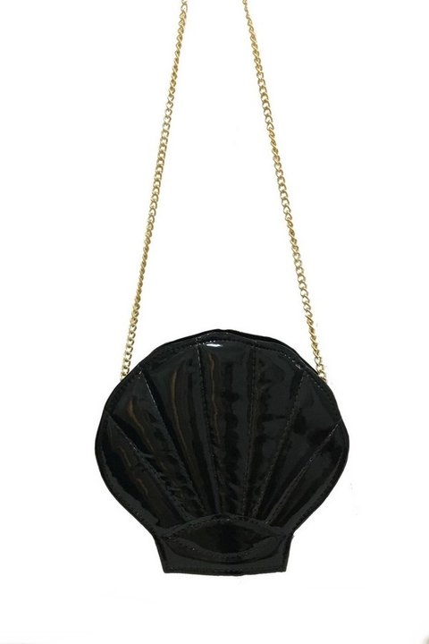 Bolsa de Concha Black Mermaid