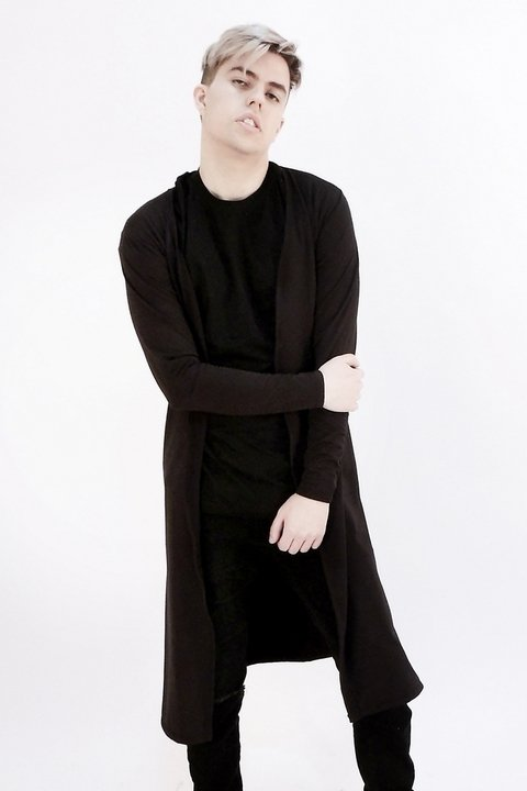 CITY WITCH CARDIGAN PRETO
