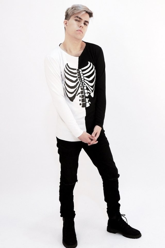 Dual Skeleton Sweatshirt - buy online