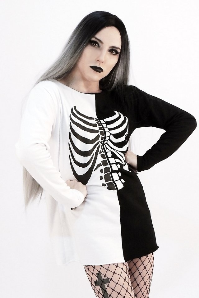 Dual Skeleton Sweatshirt