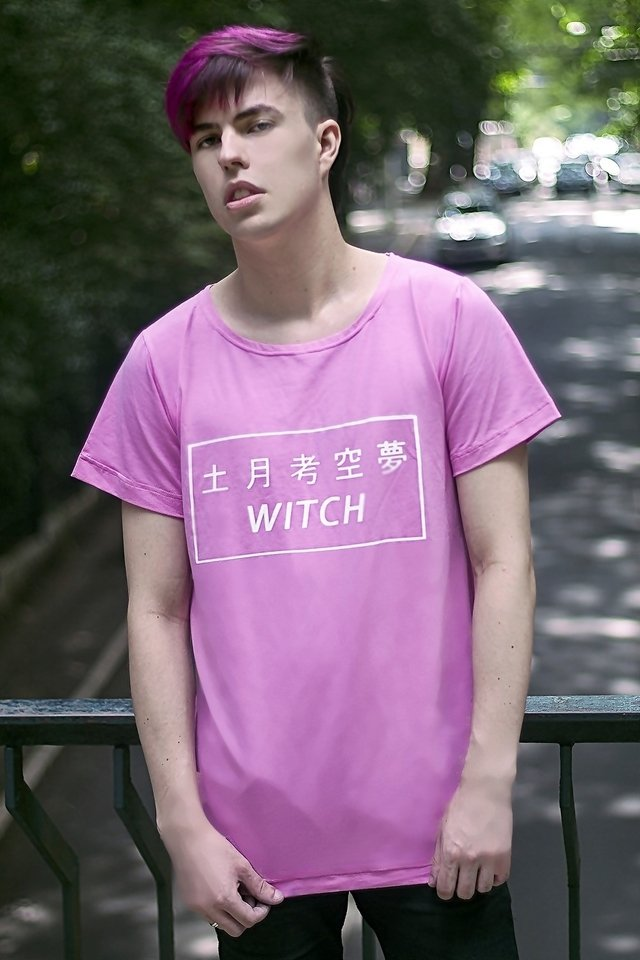COTTON CANDY WITCH T SHIRT on internet