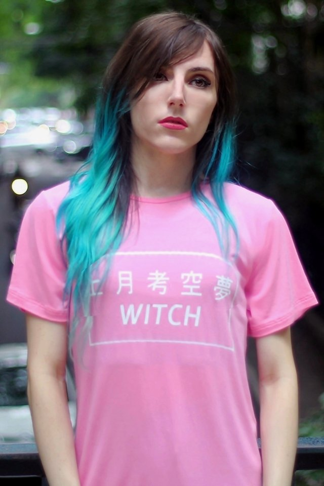 COTTON CANDY WITCH T SHIRT - buy online