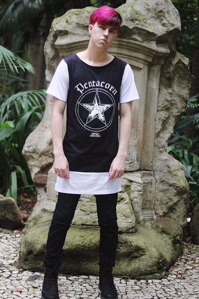 Alternative Clothing Brand: witch shop gothic fashion Pentacorn shirt unisex gender neutral store