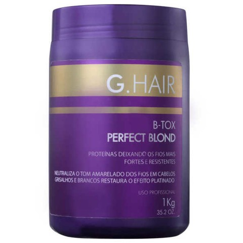 G. Hair Perfect Blond B-Tox - Máscara 1000g