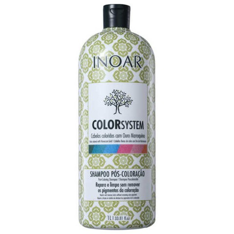 Inoar Color System Poscoloracao Shampoo 1000ml