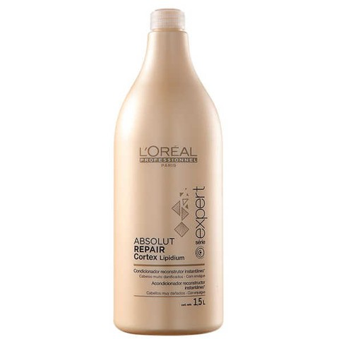 L'Oréal Absolut Repair Cortex Lipidium Instant Reconstructing Conditioner Condicionador 1500ml
