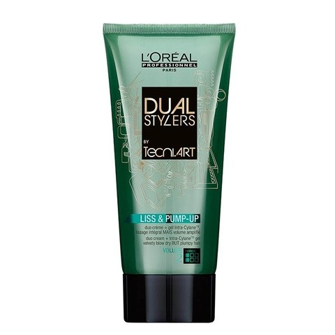 L'Oréal Dual Styler by Tecni.Art Liss & Pump-Up Leave-in 2 em 1 150ml