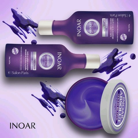 Inoar Absolut Speed Blond Mascara Tonalizante 500g - comprar online