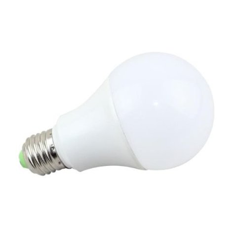 LAMPARA LED 7W LUZ CALIDA E27 55W