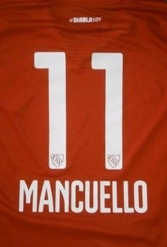 Estampado Numero Independiente 2014 2015 Oficial