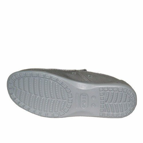 Crocs Santa Cruz Clean Cut Moke Light Grey Adultos en internet