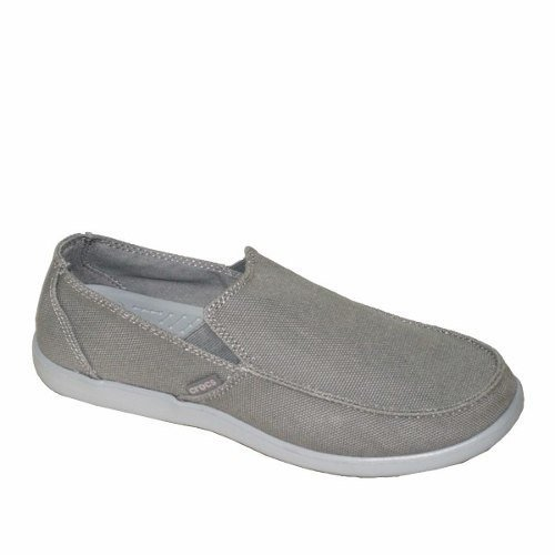Crocs Santa Cruz Clean Cut Moke Light Grey Adultos