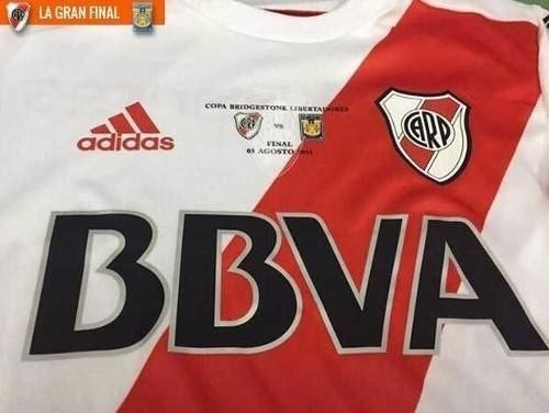 Parche Match Day River Campeon Copa Libertadores 2015