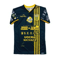 Camiseta Negra Alternativa Almirante Brown Retiel 2019