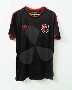 Camiseta Newells Old Boys Umbro 2018 Suplente Negra