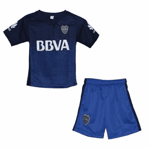 Mini Kit Boca Juniors Alternativo 2017 + Estampados