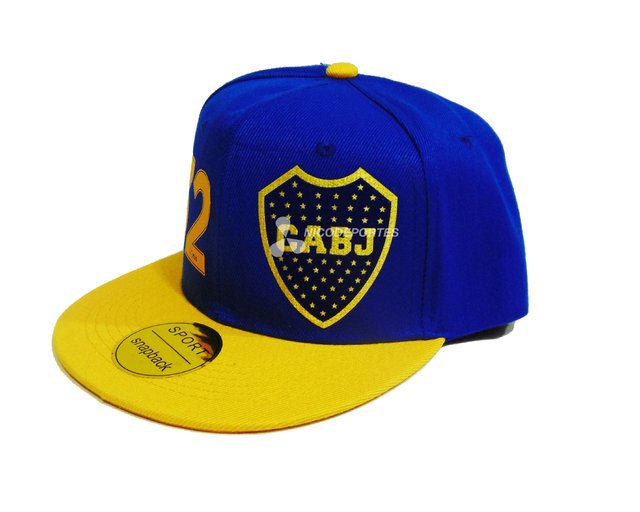 Gorra SNAP BOCA JUNIORS en internet