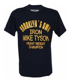 Remera BRONX IRON MIKE TYSON ESTAMPA AMBOS LADOS HERMOSA!