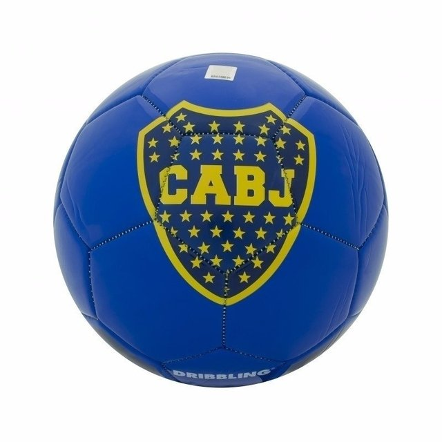 Pelota Futbol Boca Juniors N5 Dribbling Intercontinental