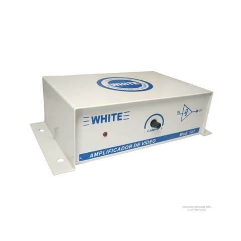 Distribuidor e Amplificador de video WHITE 01 saída