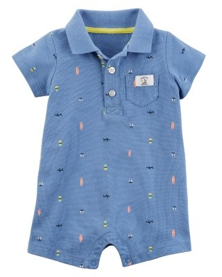 Rompers Carters Tipo Polo