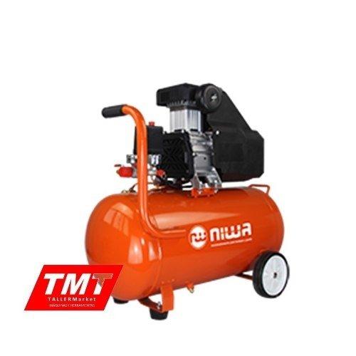 Compresor De Aire Sin Aceite 2,5 Hp 50 Litros Alta Rec Niwa