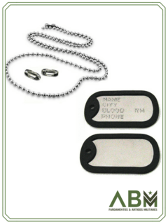 PLAQUETA DOG TAG