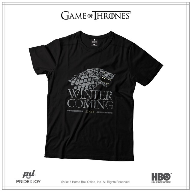 Remera Winter Is Coming
