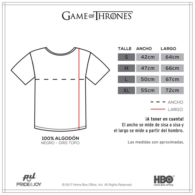 Remera Winter Is Coming - comprar online