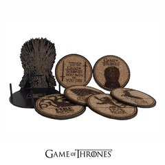 Set de Posavasos + Trono Contenedor Game Of Thrones