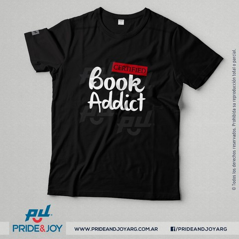 Remera Book Addict