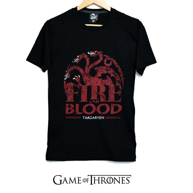 Remera Fire And Blood