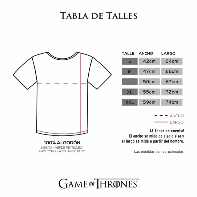 Remera Fire And Blood - comprar online