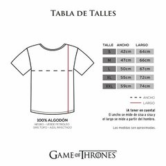 Remera The North Remembers - comprar online