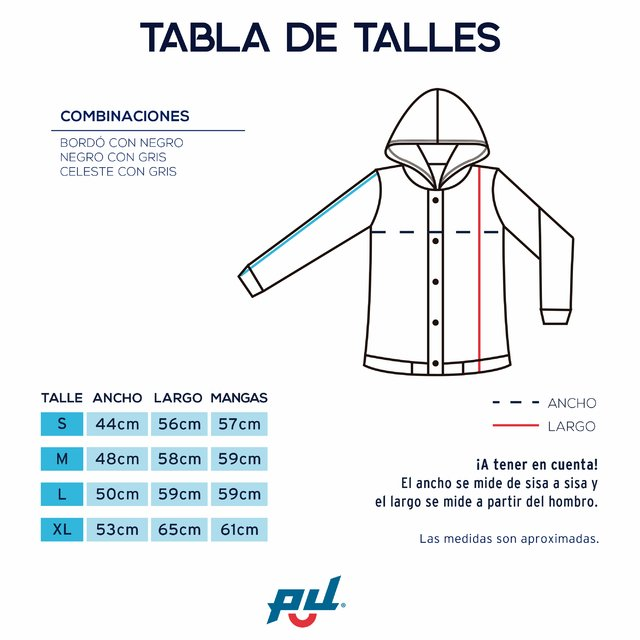 Campera Team Eagles - tienda online