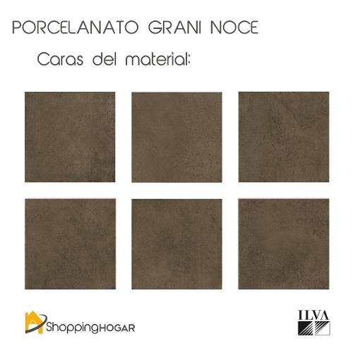 Porcelanato Ilva Grani Noce 45x90 Natural Marrón en internet