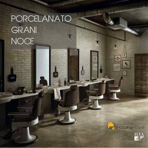 Porcelanato Ilva Grani Noce 45x90 Natural Marrón