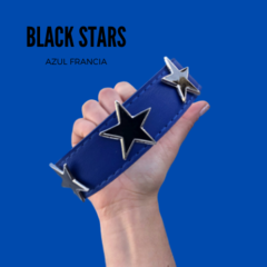 BLACK STARS (COLLAR SOLO SIN CORREA!) - PAM * Peek and Miis - Boutique Mascotera-*