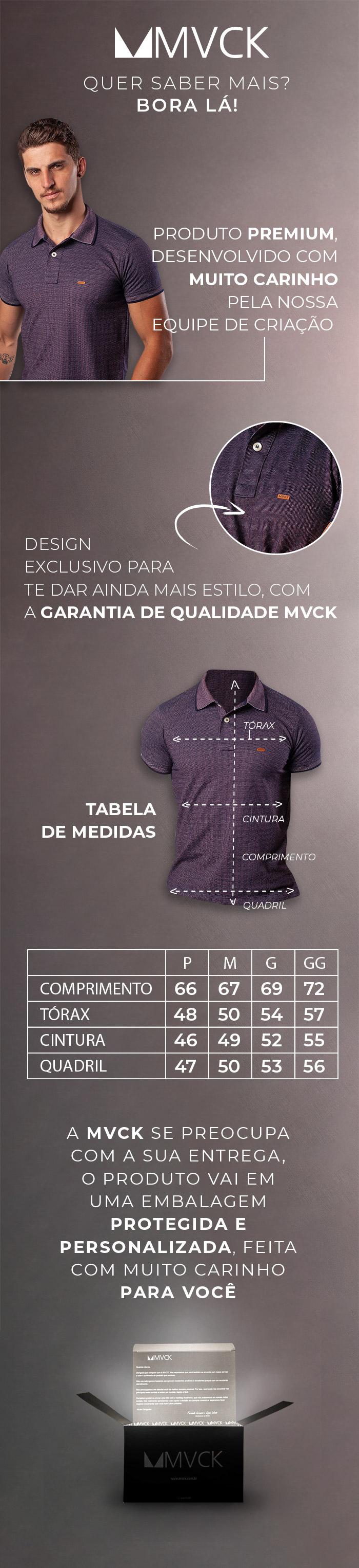Descrição Camisa Polo Vine
