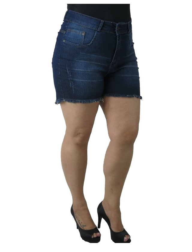 SHORTS ADULTO PLUS SIZE - PÁTRIA BRASIL - P-56391