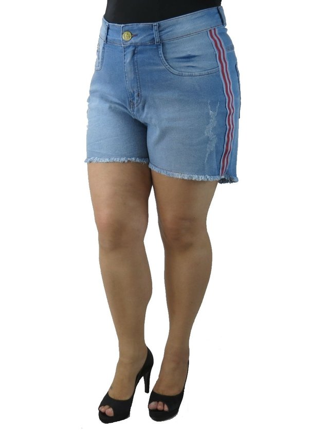 SHORTS ADULTO PLUS SIZE - PÁTRIA BRASIL - P-56392