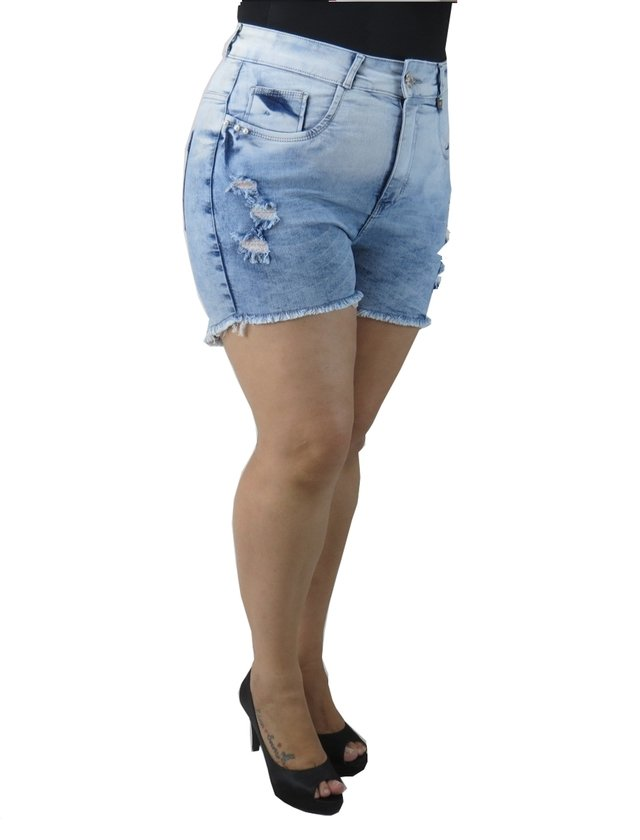 SHORTS ADULTO PLUS SIZE - PÁTRIA BRASIL - P-56402
