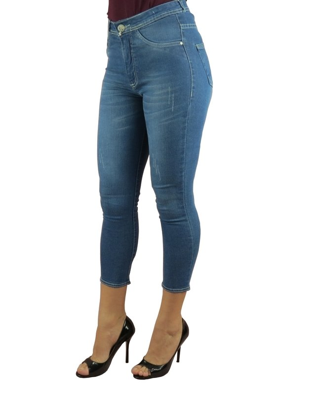 Calça Cropped Feminina Adulto - LADY X - L-5696 na internet
