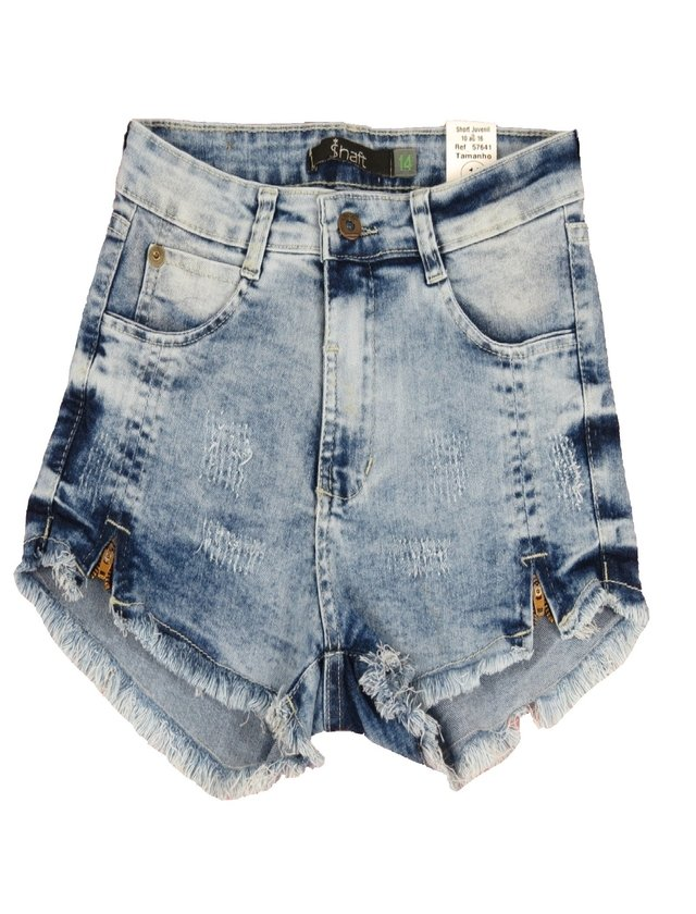 Shorts Feminino Juvenil - SHAFT - S-57641