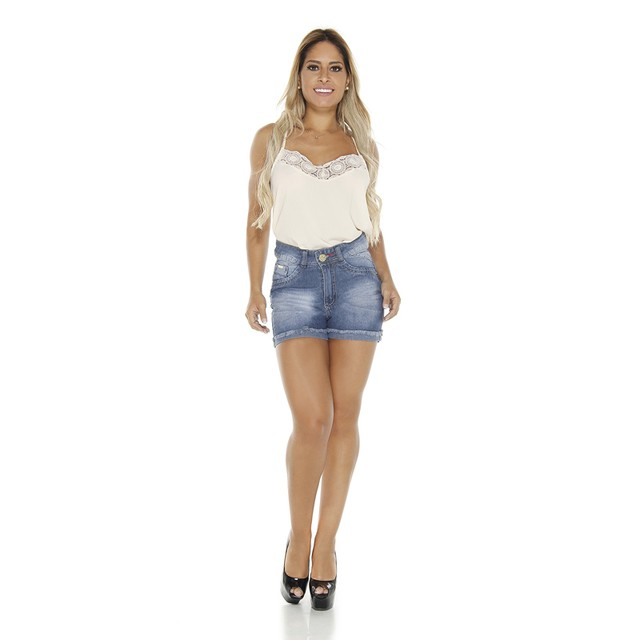Short Adulto Hot Pants - Pátria Brasil - Mod: P-5020: