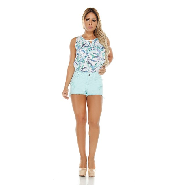 Short Adulto Hot Pants - Pátria Brasil - Mod:L-5083V