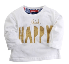 REMERA BB THINK HAPPY