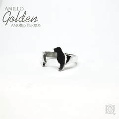 Anillo Golden retriever